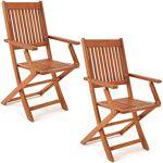 deuba  Deuba Set de 2 chaises de jardin pliantes  Sydney  en bois d'acacia... par LeGuide.com Publicité