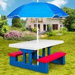 deuba  Deuba Salon de Jardin pour Enfants Table et bancs Ensemble de Jardin... par LeGuide.com Publicité