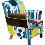 kare  Kare Design Fauteuil de Relaxation avec accoudoirs Motif Patchwork... par LeGuide.com Publicité