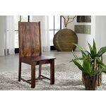 MASSIVMOEBEL24.DE Chaise style colonial Bois massif d'acacia laqué... par LeGuide.com Publicité