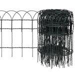 vidaxl  VidaXL Kagm Bordure Bordure de Jardin Clôture de Jardin Cette clôture... par LeGuide.com Publicité