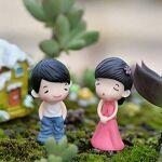 NuiOOui131 Lot de 2 Figurines Miniatures pour Jardin et Maison Couleur... par LeGuide.com Publicité