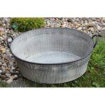 Krenz Bac à Plantes en Zinc Taille Moyenne Jolie bassine en zinc avec... par LeGuide.com Publicité