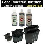 biobizz  BIOBIZZ Starter Pack Culture en Terre indoor 8 Graines BIO Ce... par LeGuide.com Publicité