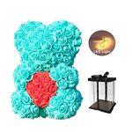 Sunshay Ours Rose, LED Rose Teddy Bear Fleur Artificielle Ours avec Unique... par LeGuide.com Publicité