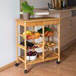 relaxdays  Relaxdays 10019161 Desserte de cuisine JAMES XXL meuble d'appoint... par LeGuide.com Publicité