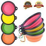 PetBonus Lot de 4 bols en silicone pliable pour animal domestique Gamelles... par LeGuide.com Publicité