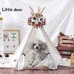 cls  CLS Little Dove Maison/tente avec dentelle pour chien ou autre animal... par LeGuide.com Publicité
