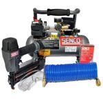senco  Senco FinishPro Kit cloueuse et compresseur 18 mg cloueur de finition... par LeGuide.com Publicité
