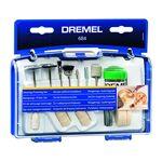 dremel  Dremel 684 Kit Pollisage Coffret avec 20 Accessoires de Nettoyage... par LeGuide.com Publicité