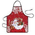 Luccase Tabliers de Cuisine Etanche Noël, Dessin Animé Sergé Impression... par LeGuide.com Publicité