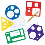 learning resources  Learning Resources Kit de pochoirs de Formes primaires,... par LeGuide.com Publicité