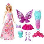 barbie  Barbie Dreamtopia poupée Bonbons coffret 3 en 1 blonde avec trois... par LeGuide.com Publicité