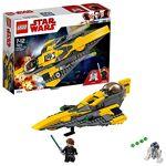 lego  Lego Star Wars Anakin's Jedi Starfighter 75214 Jeu de Construction... par LeGuide.com Publicité
