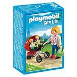 playmobil  Playmobil - Mother with Twin Stroller Maman avec Jumeaux et... par LeGuide.com Publicité