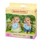 sylvanian families  SYLVANIAN FAMILIES -La Famille Loutre Animaux Mini-poupées,... par LeGuide.com Publicité
