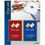 grimaud  Grimaud jouer DUCALE, 2 jeux de 54 cartes sous blister-404643,... par LeGuide.com Publicité