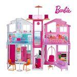 barbie  Barbie Mobilier Grande Maison de poupée de Luxe à 2 étages et 4... par LeGuide.com Publicité