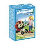 playmobil  Playmobil Maman avec Jumeaux et Landau 5573 Descriptif produit:... par LeGuide.com Publicité