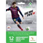 ea sports  Microsoft Carte Abonnement Xbox Live Gold 12 mois + 1 mois offert... par LeGuide.com Publicité