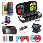 AMORSVBP Nintendo Switch Bundle Bundle, ensemble essentiel 19 en 1 compatible... par LeGuide.com Publicité