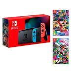 nintendo  Nintendo Switch console Rouge Néon/Bleu Néon 32Go + Mario Kart... par LeGuide.com Publicité