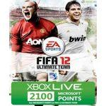 ea sports  Microsoft Carte Xbox 360 Live 2100 points Fifa 12 Carte prépayée... par LeGuide.com Publicité