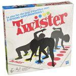 hasbro  Hasbro Twister Jeu de societe Twister Jeu d'adresse rigolo... par LeGuide.com Publicité
