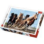 trefl  Trefl Puzzle-Chevaux Au Galop-1000 Pièces, 10446 chevaux au galop... par LeGuide.com Publicité