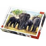 trefl  Trefl Puzzle-Eléphants d'Afrique-1000 Pièces, 10442 Eléphants... par LeGuide.com Publicité