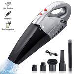 Sumgott Aspirateur à Main sans Fil, 7000PA Rechargeable 3000mAh Batterie... par LeGuide.com Publicité