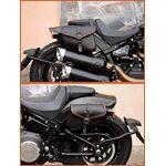 Ends cuoio Sacoche de Selle en Cuir véritable et Gauche pour Harley Davidson... par LeGuide.com Publicité