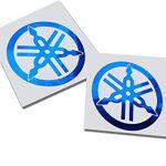 Twisted Melon Yamaha R1 R6 Lot de 2 Stickers pour Moto Chromé Bleu YAMAHA... par LeGuide.com Publicité