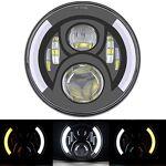 SKUNTUGUANG Phare avant 7  à LED avec feux clignotants DRL pour moto... par LeGuide.com Publicité