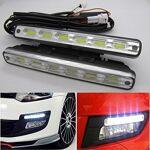 DUVERT 2pcs x 6 COB LED feux/lampe/ampoule de voiture Diurne de Conduite... par LeGuide.com Publicité