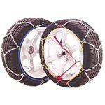 SNOVIT Chaines Neige E9 taille 80, 9 mm, ensemble de 2, TÜV/GS pour mesures:... par LeGuide.com Publicité