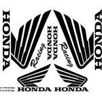 ADP Adhésifs Lot de Stickers pour réservoir de Moto ou Autre déco (Planche)... par LeGuide.com Publicité