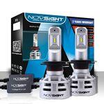 NOVSIGHT LED Ampoule H7 pour Voiture, 12V Lampe Phare 60W(30W*2) 10000Lms(5000Lms*2),... par LeGuide.com Publicité