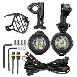 LITTOU LED feux Additionnels moto Phare antibrouillard + Housse de Protection... par LeGuide.com Publicité