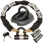 ryde  Ryde Kit antivol pour Moto avec chaîne/Housse/Cadenas/clés/Anneau... par LeGuide.com Publicité