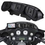 TUINCYN Sacoche de Selle pour Pare-Brise 3 Poches pour Harley Touring... par LeGuide.com Publicité