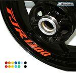 Psler Moto Roues Jantes Intérieur Autocollant Pour Yamaha FJR 1300 ?Compatibilité?... par LeGuide.com Publicité