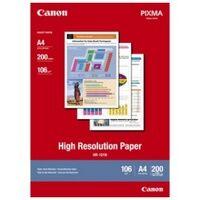 Canon HR-101N Papier Haute résolution A4 106g, 200 feuilles (1033A001)