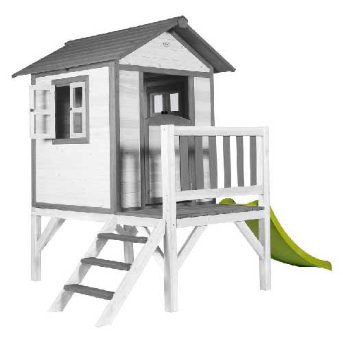 Sunny Cabane pour enfant Lodge XL Grise Blanche