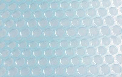 Bâche à bulle standard 400 µ translucide : 4 cotés