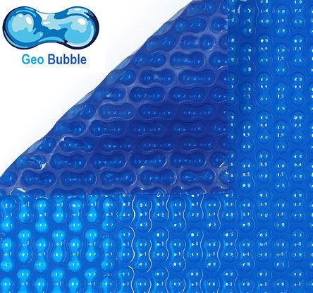 Bâche à bulle 400 µ standard 4 cotés - Géobubble - Bleu