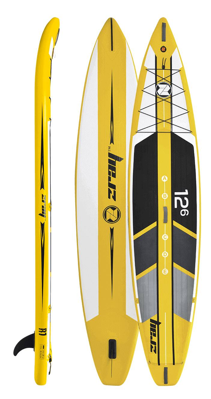 Paddle gonflable Zray Rapid 12'6