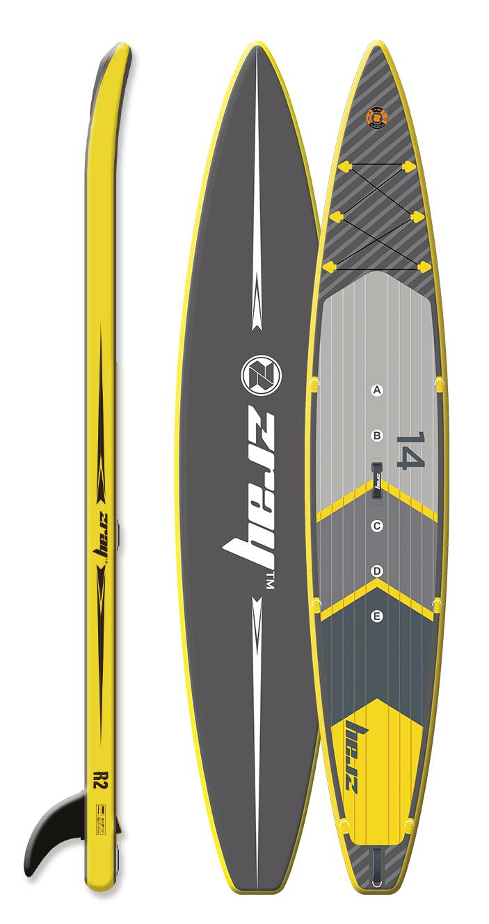 Paddle gonflable Zray Rapid 14