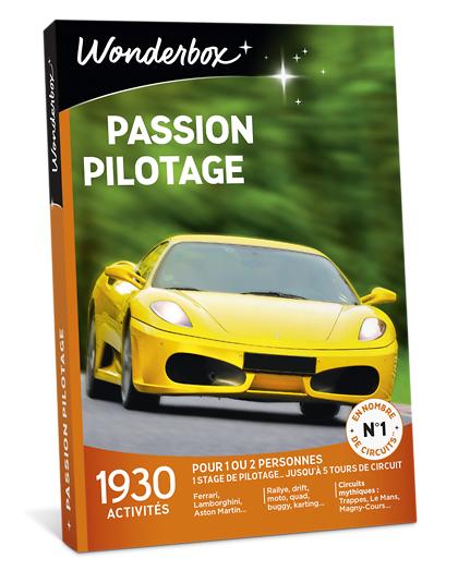 Wonderbox Coffret cadeau - Passion Pilotage - Sport & Aventure
