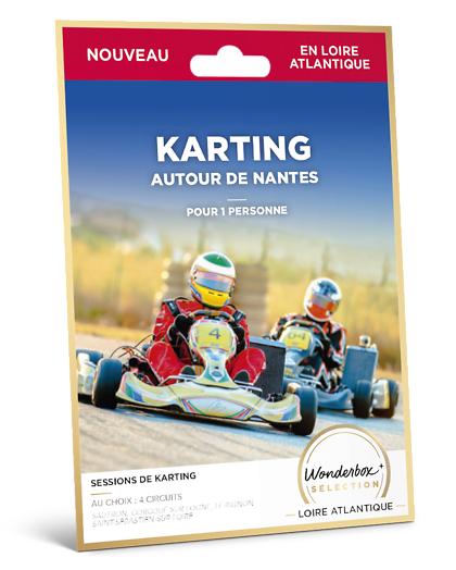 Wonderbox Coffret cadeau - Karting - Autour de Nantes - Sport & Aventure
